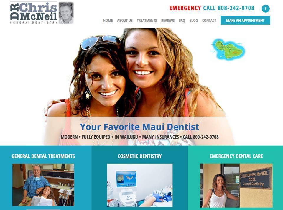 maui dental website